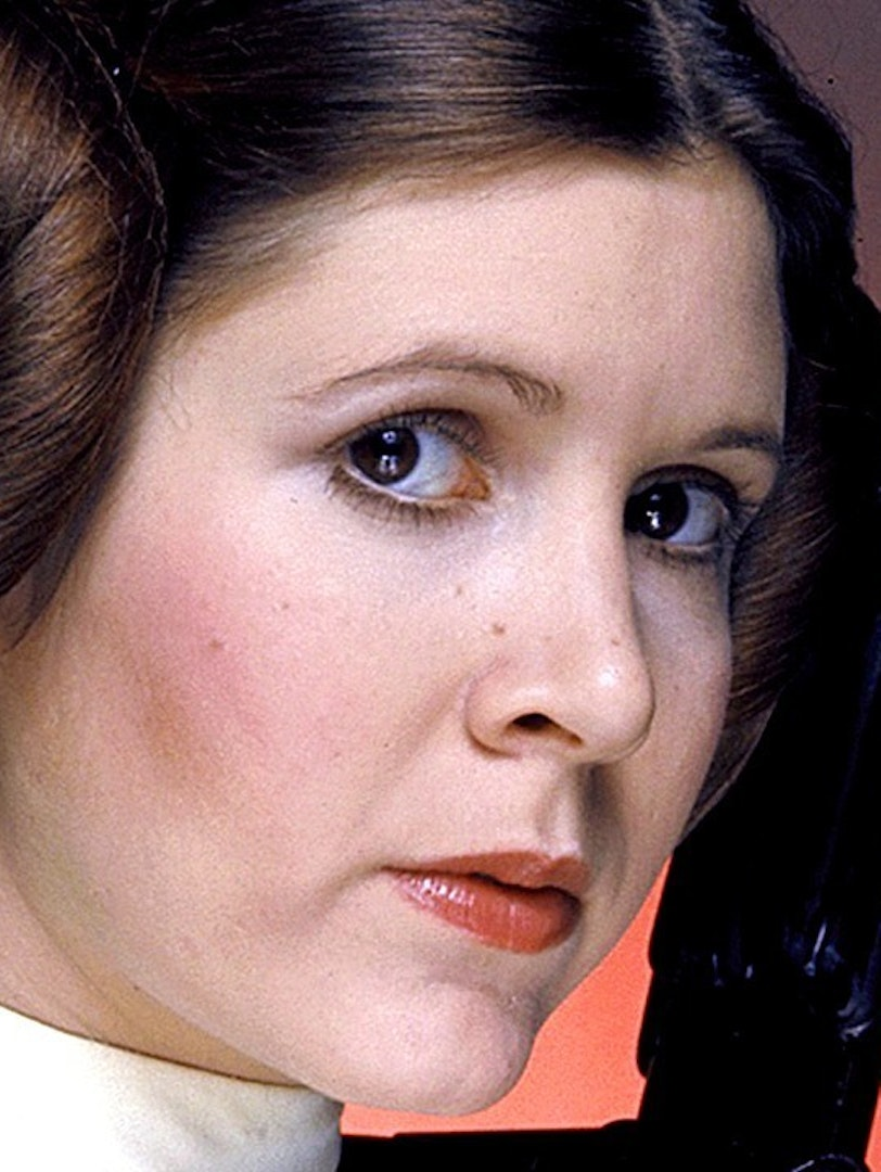 Carrie Fisher as Princess Leia in 'Star Wars'