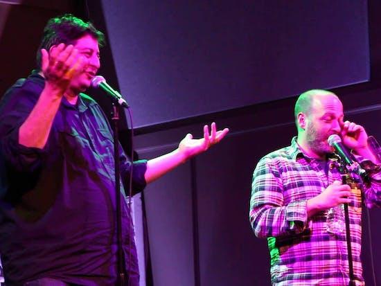 Eugene Mirman and H. Jon Benjamin Battle Weirdest Alt-Comedy Album of the Year