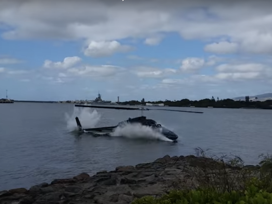 Why Did a Helicopter Just Crash Into Pearl Harbor?