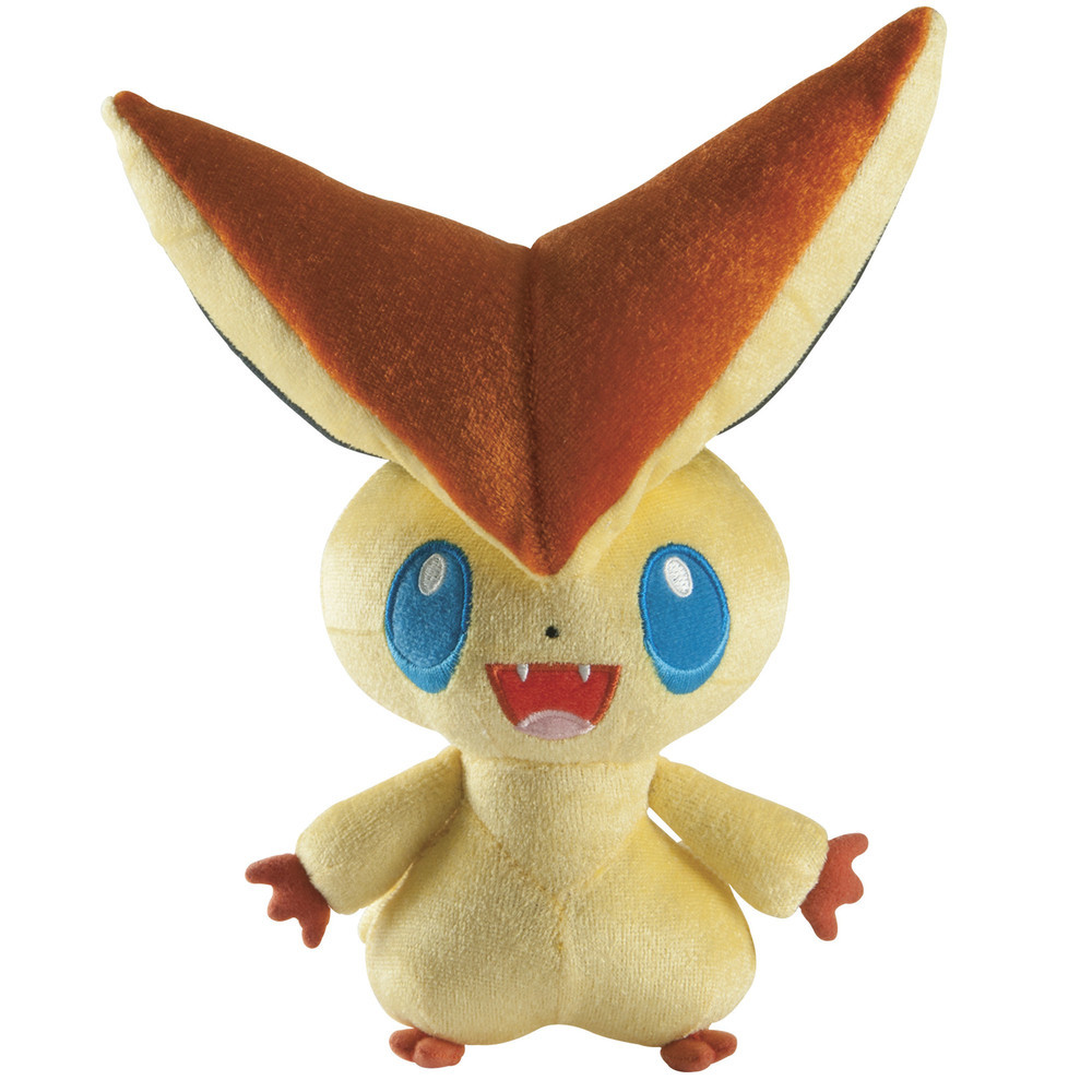 Victini's more adorable than ever in plush form.