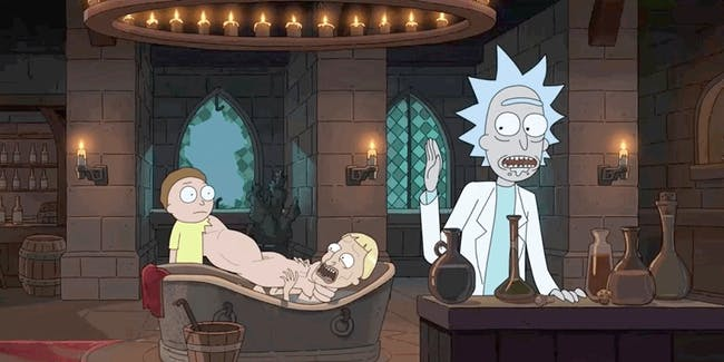 What's Morty going to be like if he continues down this dark path?