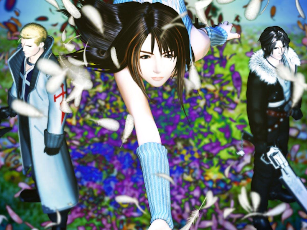 'Final Fantasy VIII' Seifer, Rinoa, and Squall