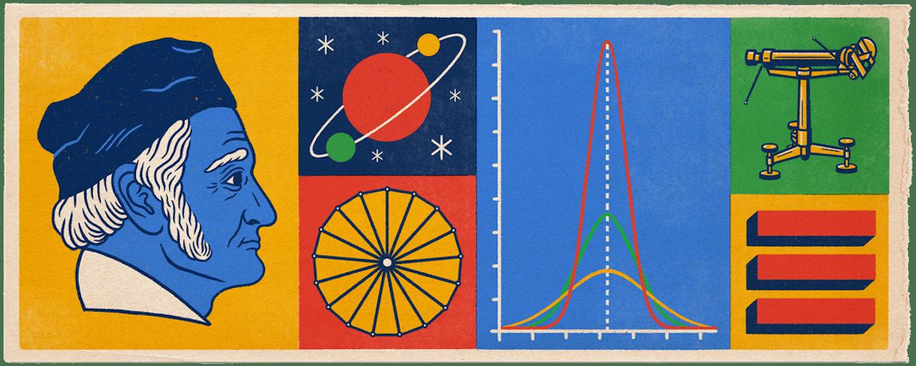 Gauss Google Doodle.