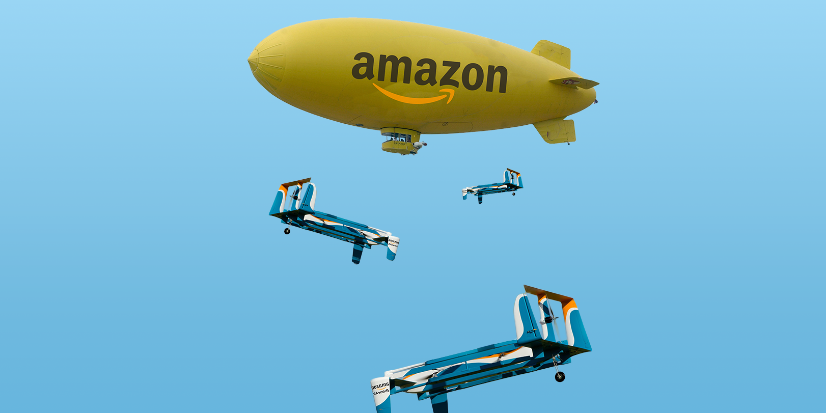 Amazon has a plan for floating blimp warehouses
