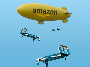 Amazon Has a Patent for Floating Blimp Warehouses