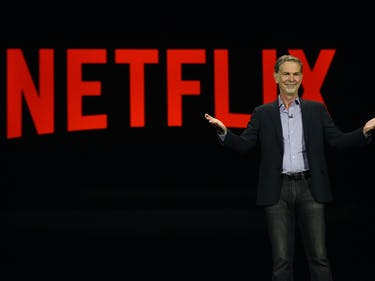 Netflix CEO: If You Can't Beat 'Em, Join 'Em