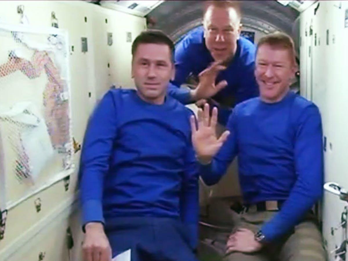 ISS Astronauts Return to Earth, NASA's Jeff Williams Takes