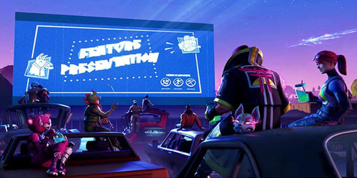 'Fortnite' Season 5 Week 6 Blockbuster Loading Screen
