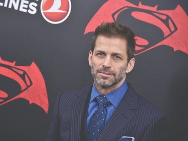 Zack Snyder is Taking a Break from DC Superhero Movies