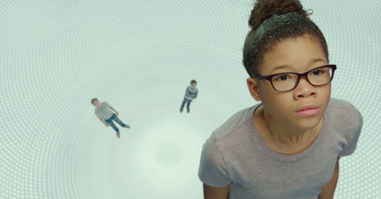 """Meg (Storm Reid) in """"A Wrinkle in Time.'"""