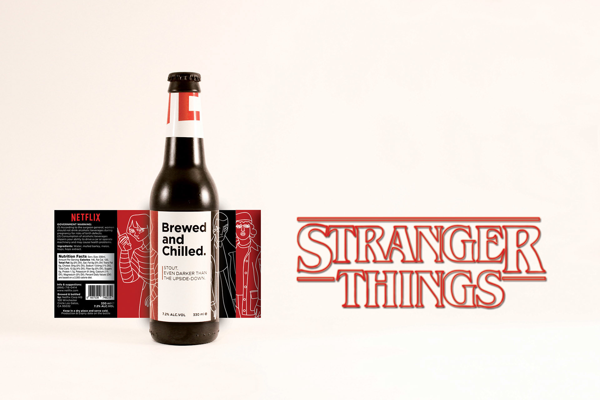 The Stranger Things-style stout.