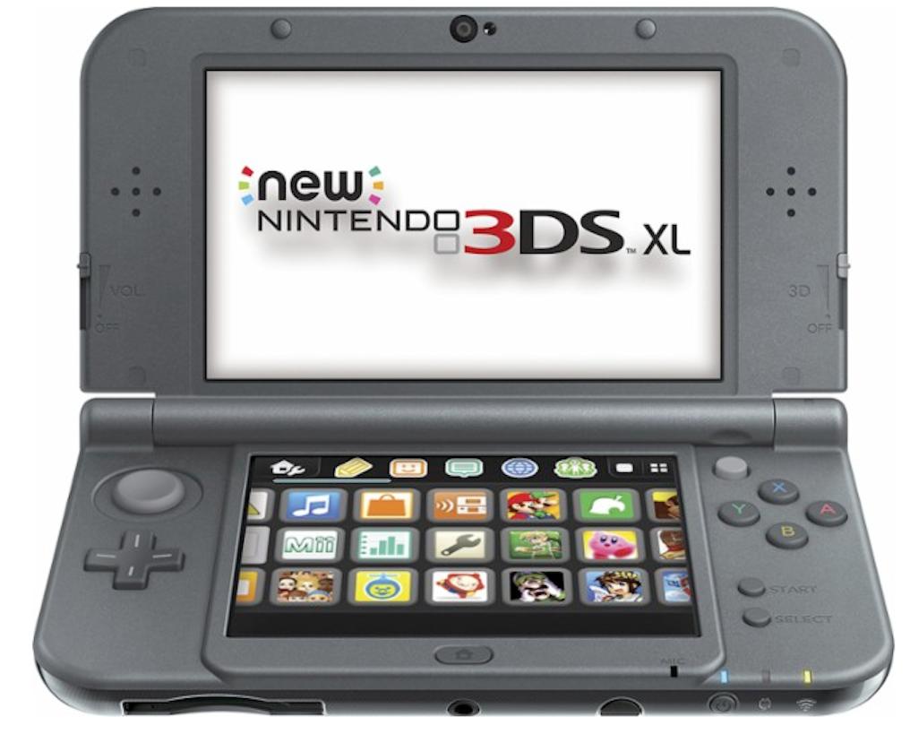 The Nintendo 3DS XL