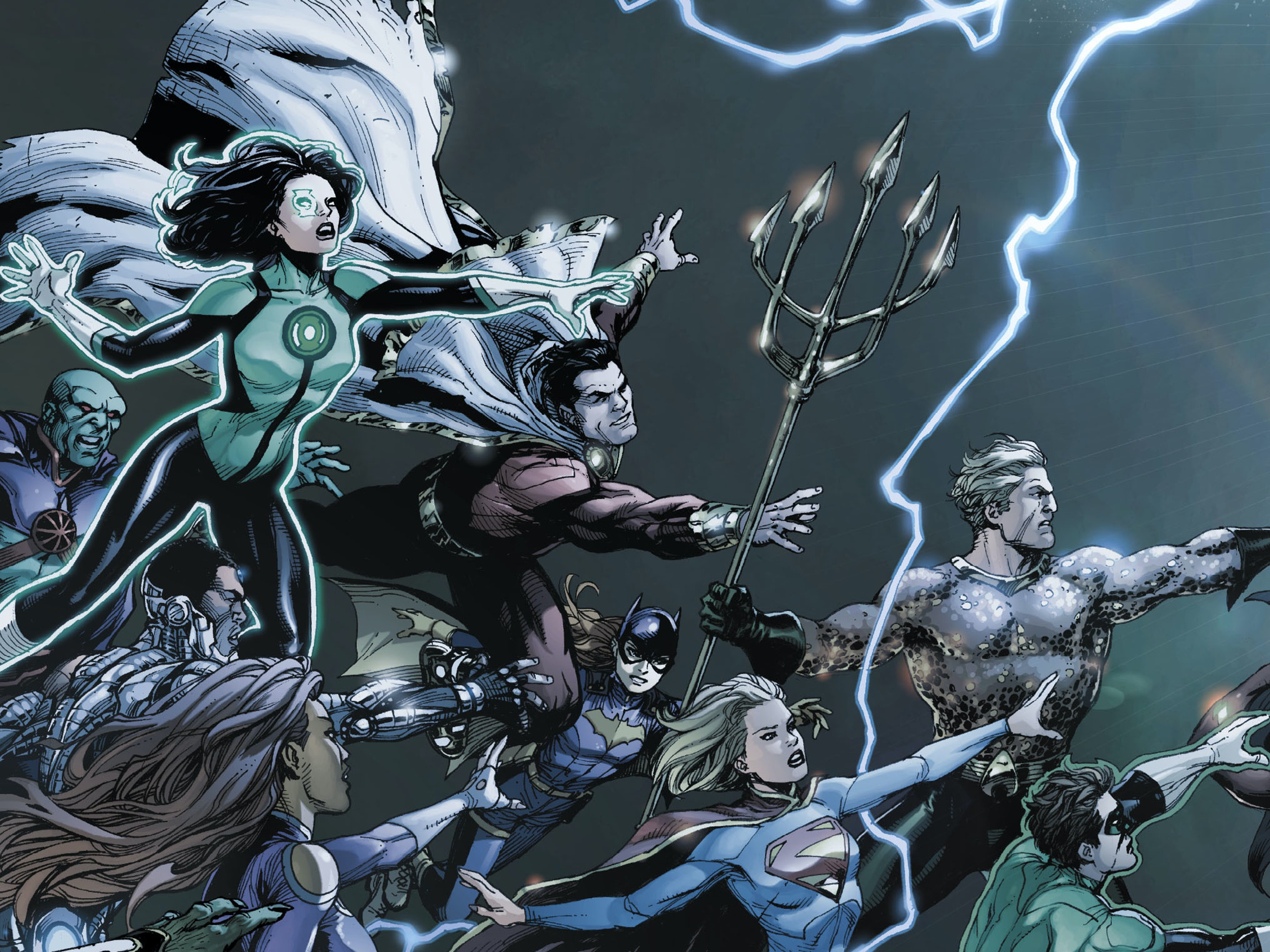 DC's First 'Rebirth' Comic Brings Back Lost Heroes
