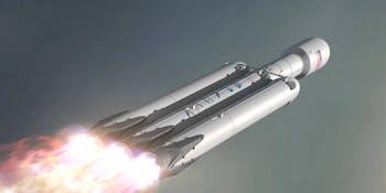 Falcon Heavy SpaceX Elon Musk