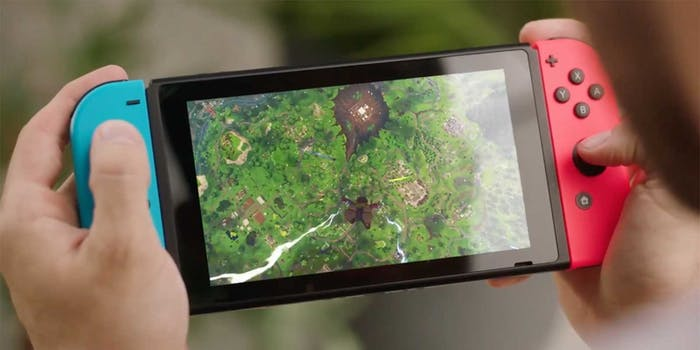 fortnite nintendo switch release date