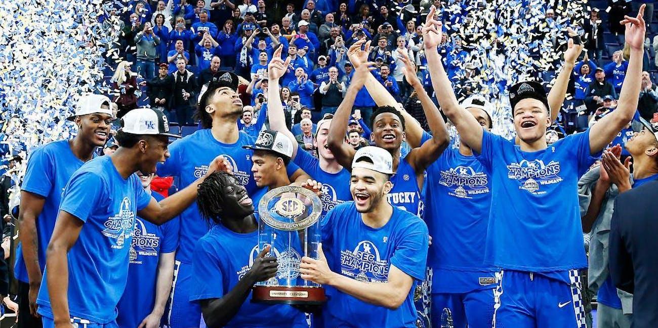 NCAA basketball Kentucky