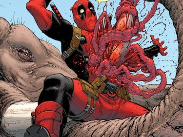Deadpool Was Brutally Devoured by a Kaiju This Week
