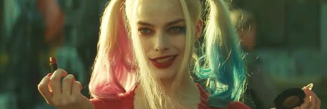 Margot Robbie as Harley Quinn in 'Suicide Squad'.