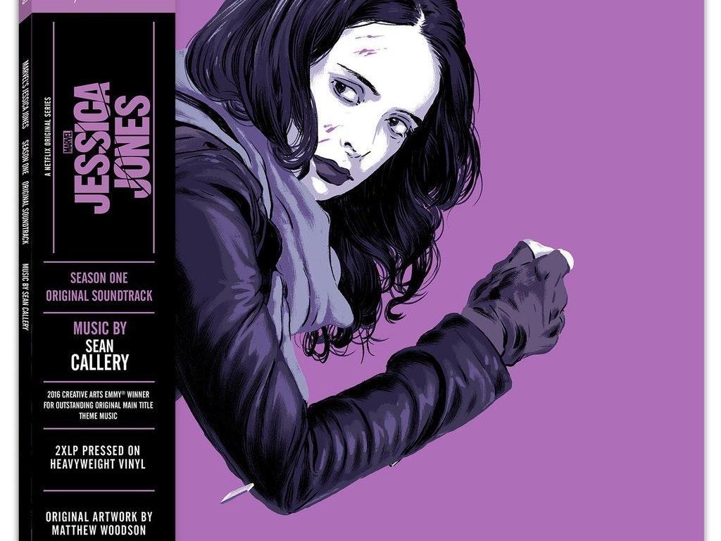 Vinyl Cover for Mondo's Luke Cage soundtrack for Netflix, Marvel