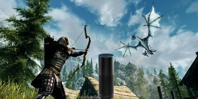 'Skyrim Very Special Edition' is a whole new way to 'Skyrim' with Alexa.