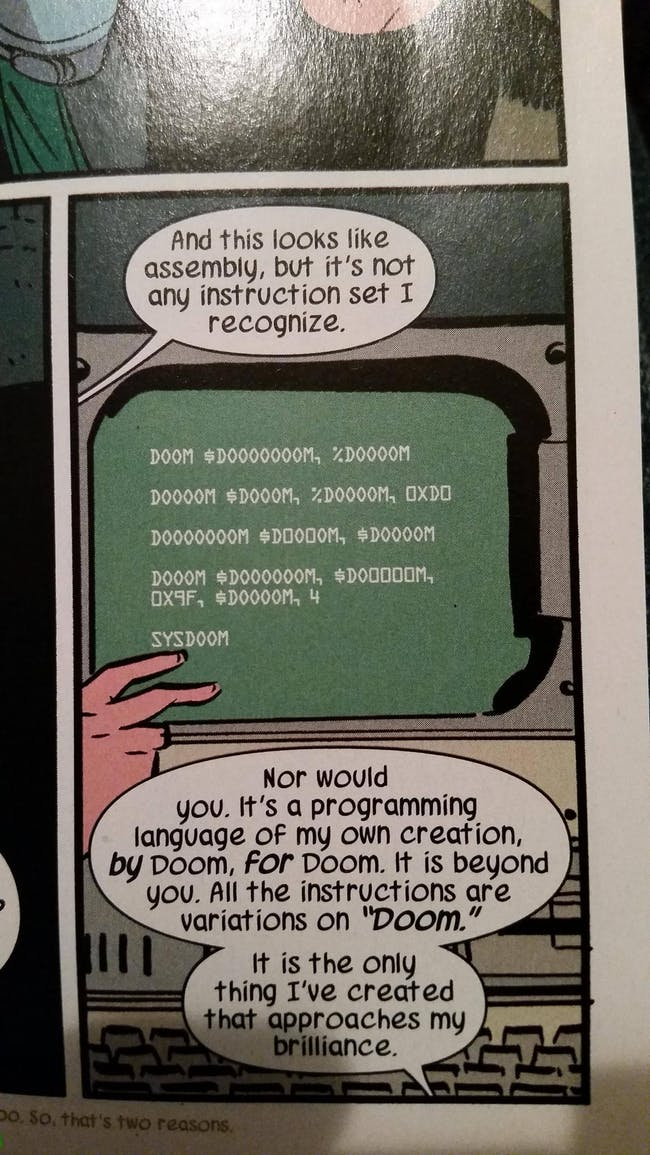 "SYSDOOM in ""Unbeatable Squirrel Girl"" #4"