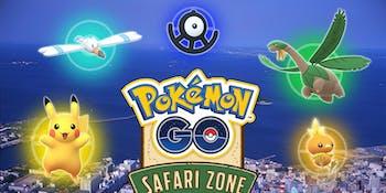 Pokemon GO Safari Zone Yokosuka