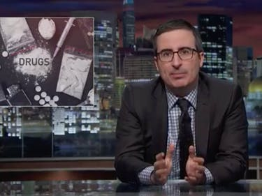 "John Oliver: U.S. Is Facing an ""Epidemic of Addiction"" to Opioids"