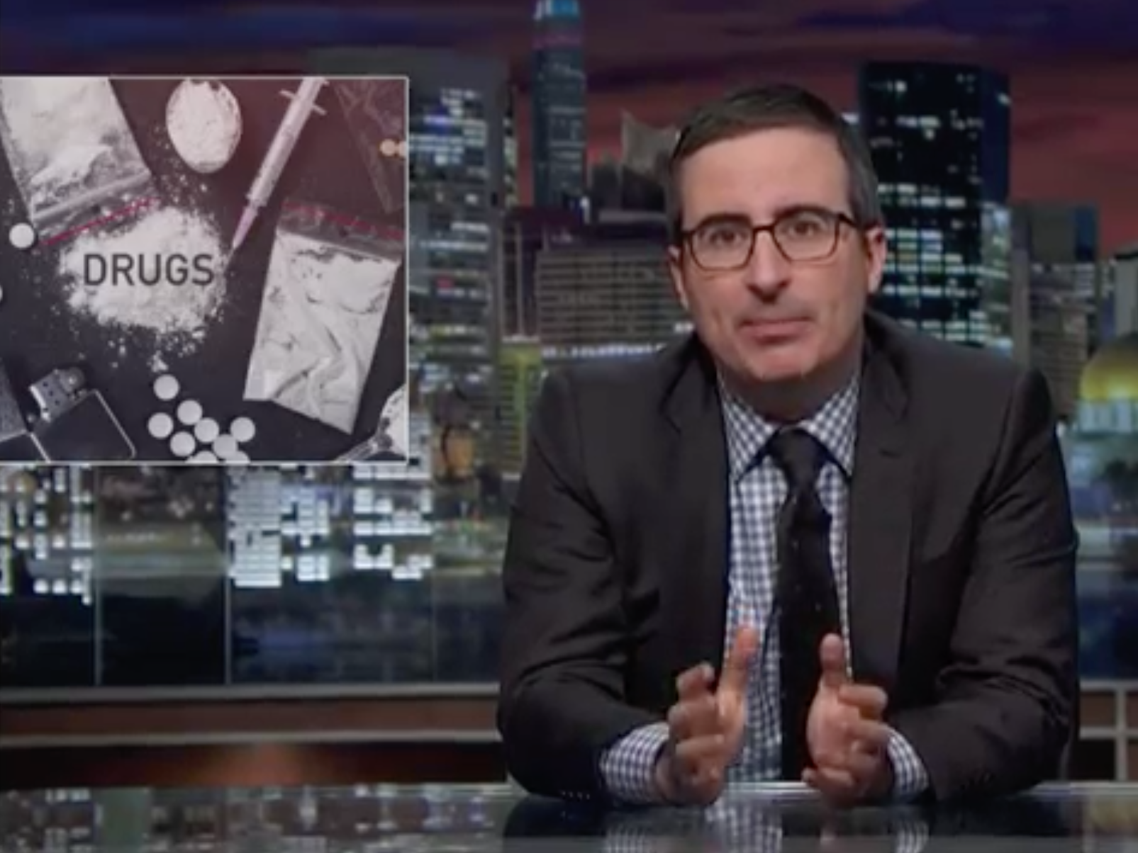 """John Oliver: U.S. Is Facing an """"Epidemic of Addiction"""" to Opioids"""