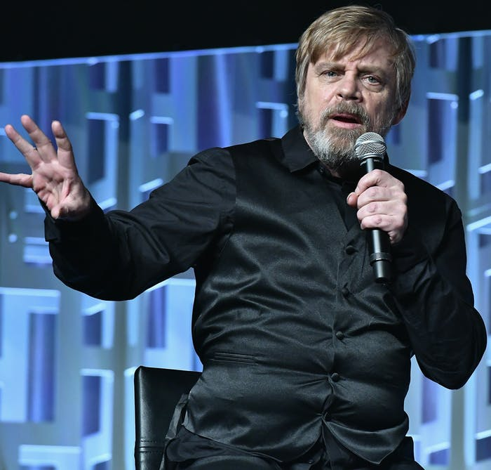 ORLANDO, FL - APRIL 14:  Mark Hamill  attends the Star Wars Celebration day 02  on April 14, 2017 in Orlando, Florida.  (Photo by Gustavo Caballero/Getty Images)