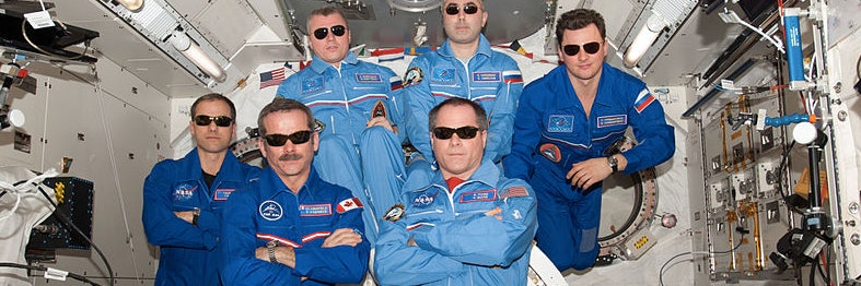Scientists are racing to figure out how to help astronaut's eyes.