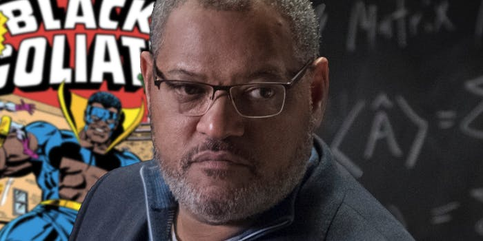 Black Goliath Laurence Fishburne Ant-Man
