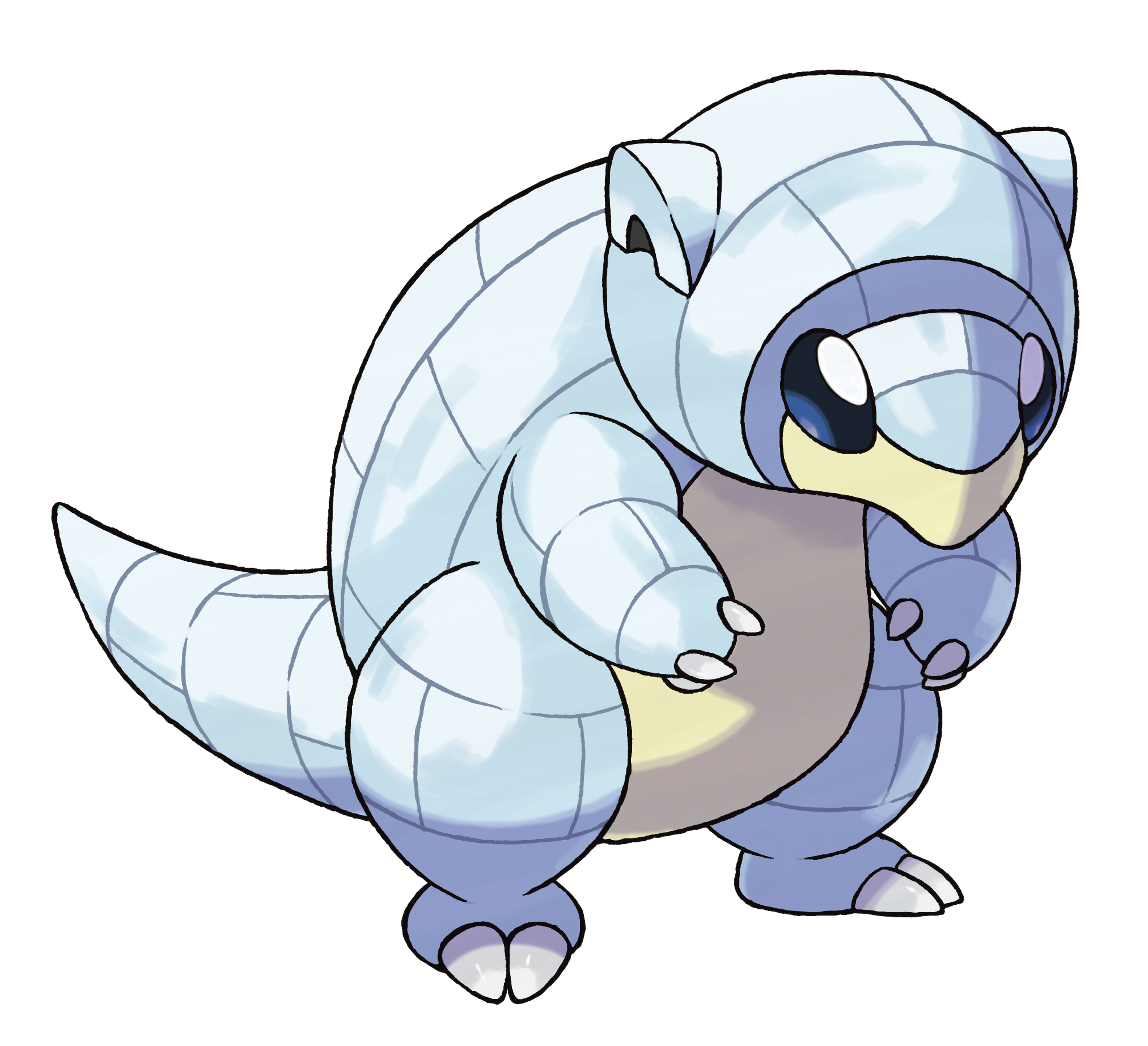It's possible that natural selection led to the evolution of the Alolan Sandshrew, better suited than the original to living in snowy environments.