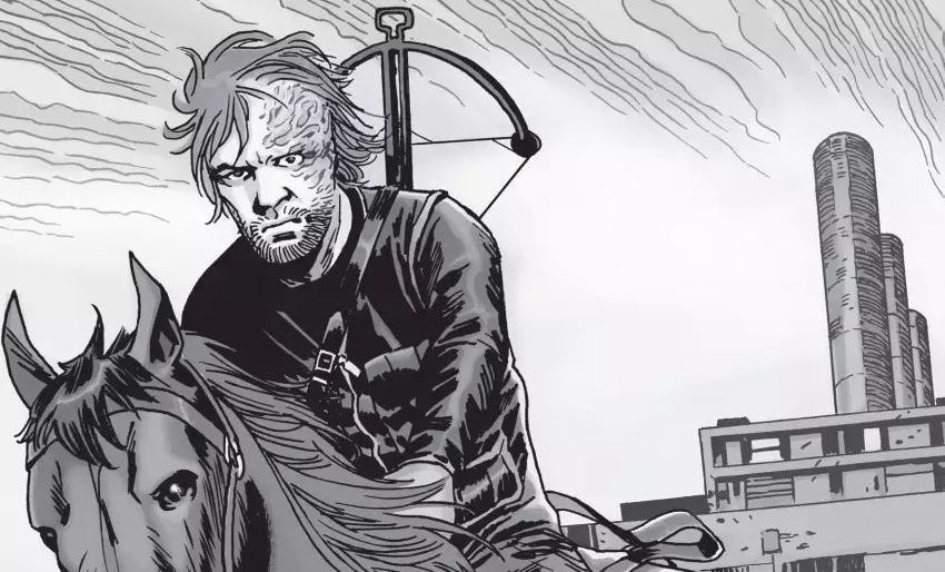 Dwight as he appears in 'The Walking Dead' comics
