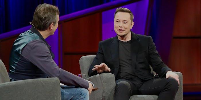 Elon Musk at TED 2017