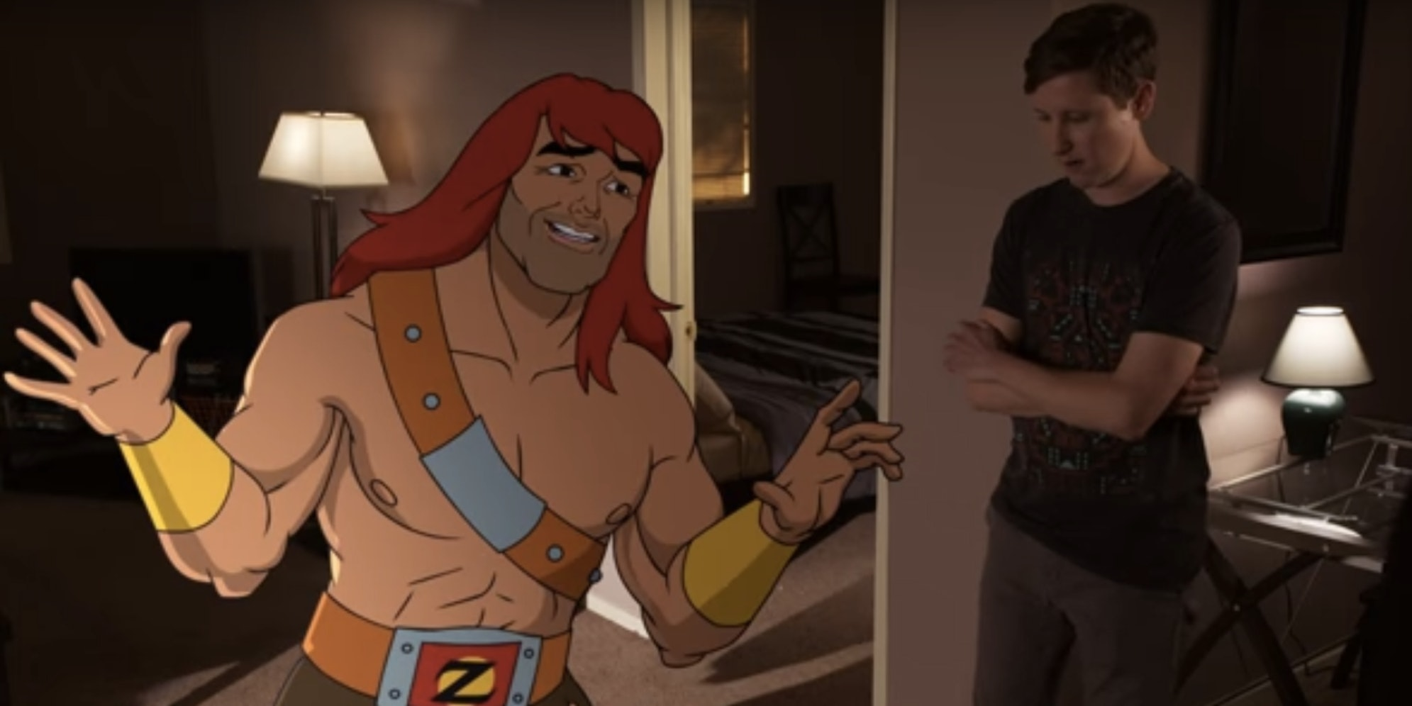 'Son of Zorn' Does Some Drunk World Building