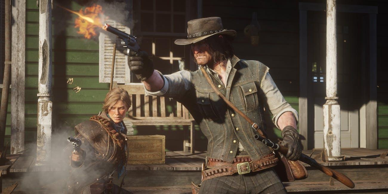 Red Dead Redemption 2, John Marston