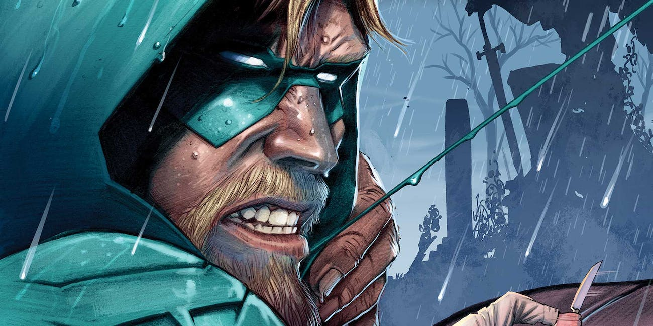 Green Arrow Benjamin Percy Tump