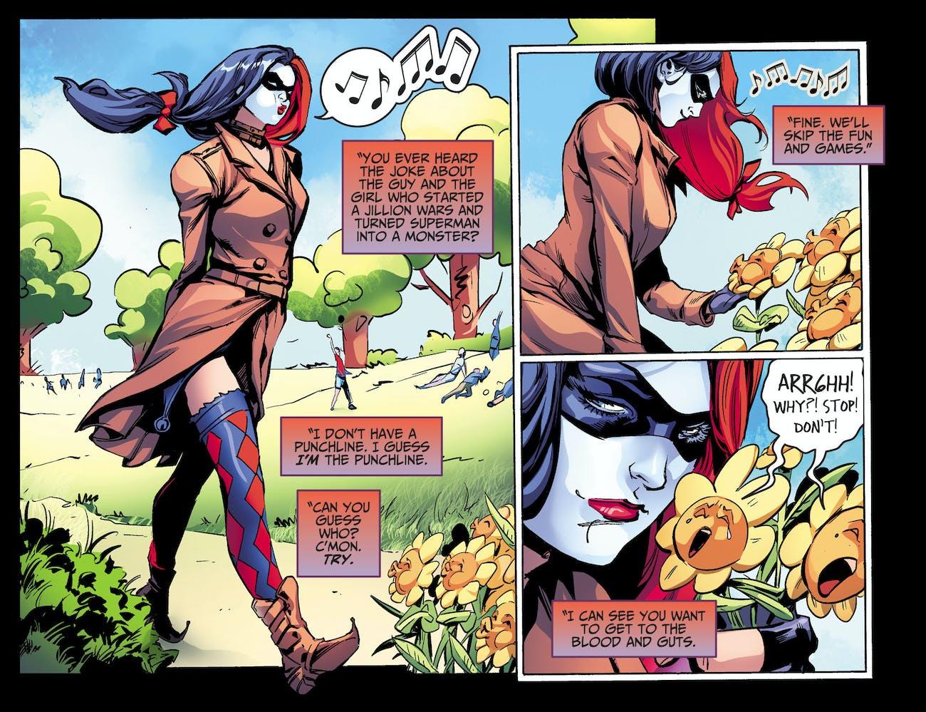 Injustice Harley Quinn DC Comic