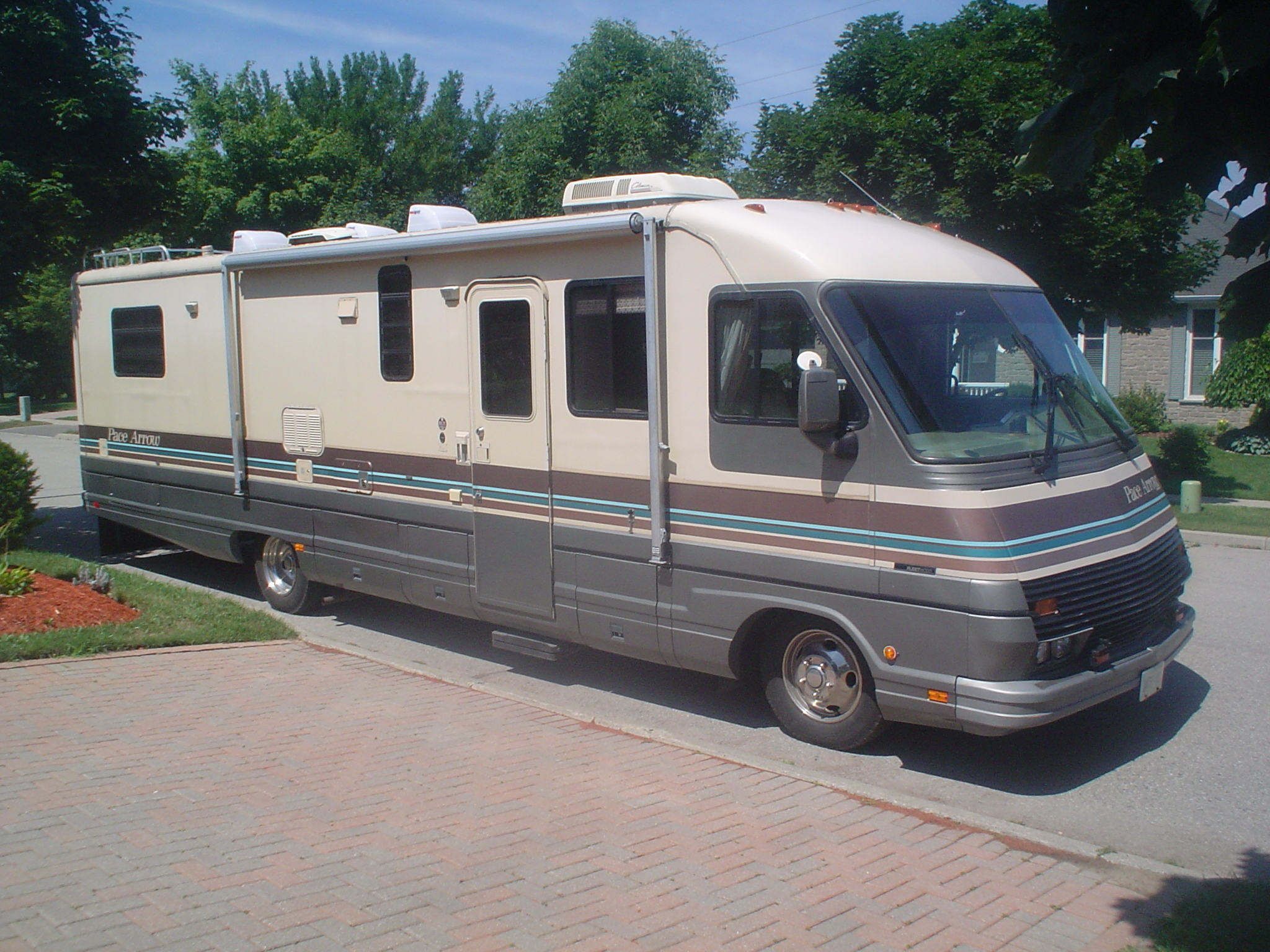 The RV, a vehicle that Americans do find acceptable to live in.