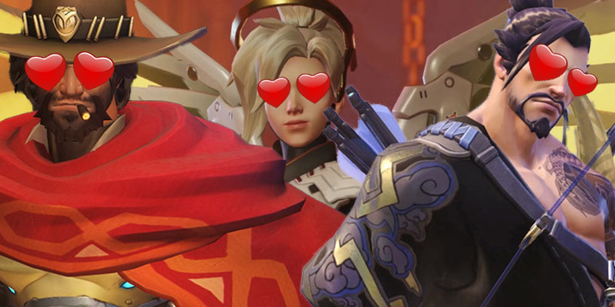 Here Are The Most-Shipped Overwatch Characters On Tumblr -6855