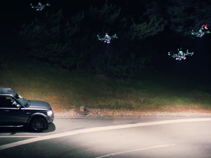 A Fleet of Autonomous Drones Will Light Up the UK