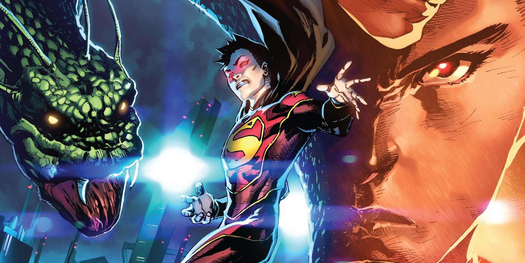 DC Comics Chinese Superman Super-Man Kenan Kong