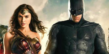 Batman and Wonder Woman -- 'Justice League'.