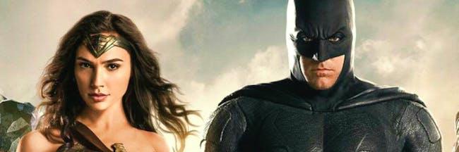 Batman and Wonder Woman -- 'Justice League'.