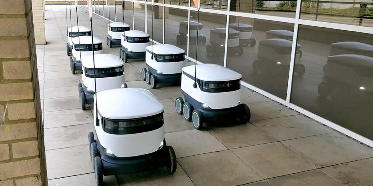 e-class starship delivery robots