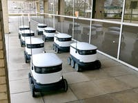 e-class starship delivery robots