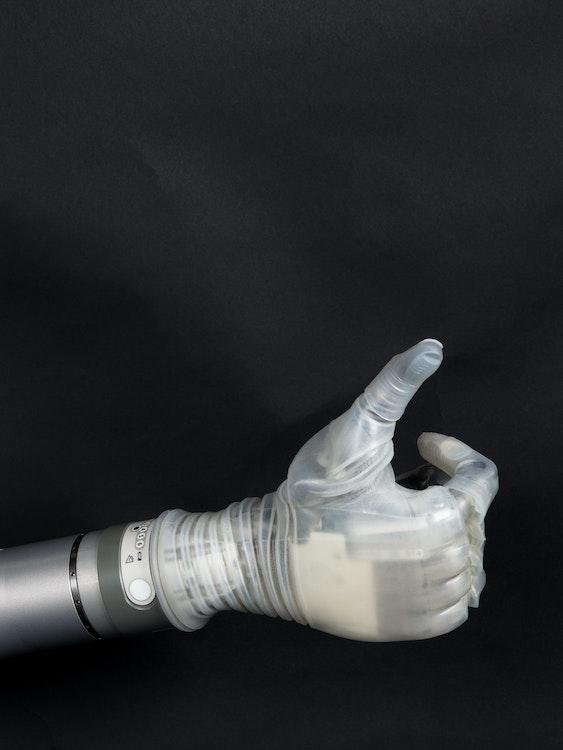 LUKE prosthetic arm.