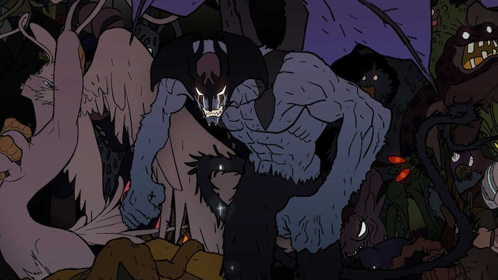 'Devilman Crybaby' might have a crying devilman, but it also has disturbing scenes of violence and sexuality.