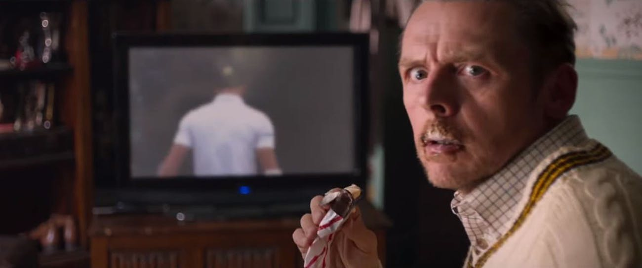'Slaughterhouse Rulez' Simon Pegg