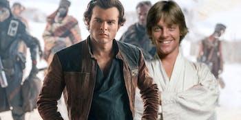 Han Solo is the new Luke Skywalker